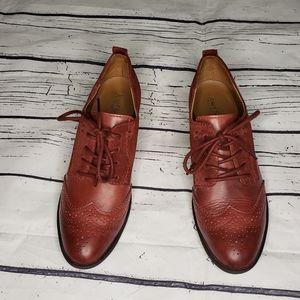 Josef Seibel Heeled Oxford Style Casual Size 39